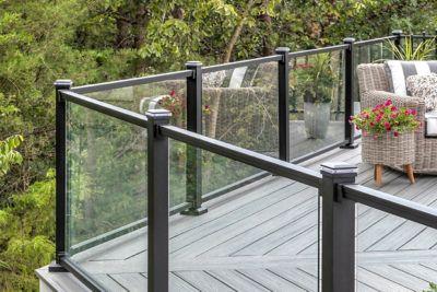 Picture of: Trex Signature Glass Mesh Railing Design Trex