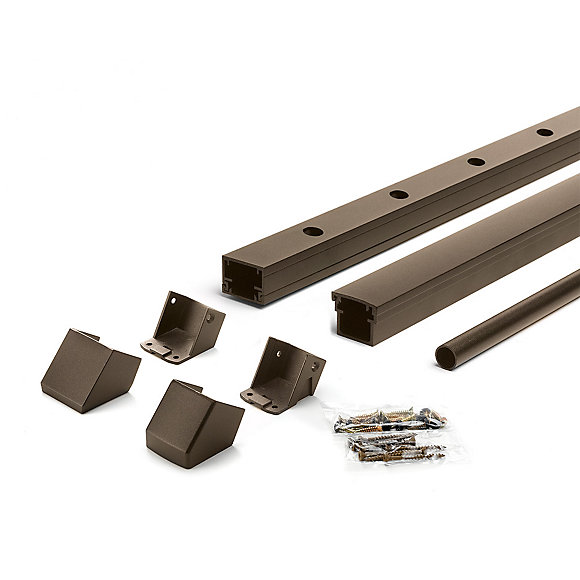 Picture of Trex Signature® Aluminum Rail and Round Baluster Kit in Bronze