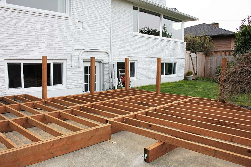 3 Tips For Building A Deck Over Concrete Trex