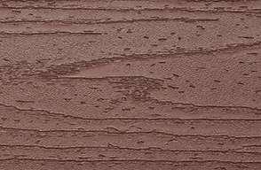 Muster Trex Transcend Fascia aus Verbundmaterial in Fire Pit