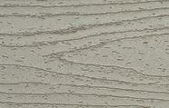 Swatch of Trex Transcend composite  Fascia in Gravel Path grey