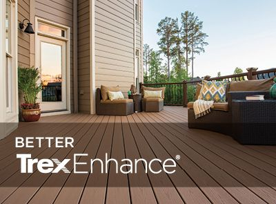 Good Discover The Strength Of Trex Enhance Composite Decking In Three Versatile  Colors