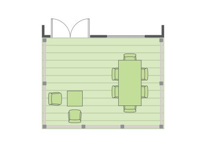 how to build equal size rectangle