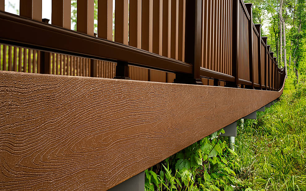 Trex® Fascia Boards - The Finishing Touches For Any Deck ...