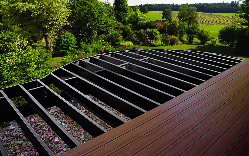 Elevations | Steel Deck Framing & Substructure Supplies | Trex