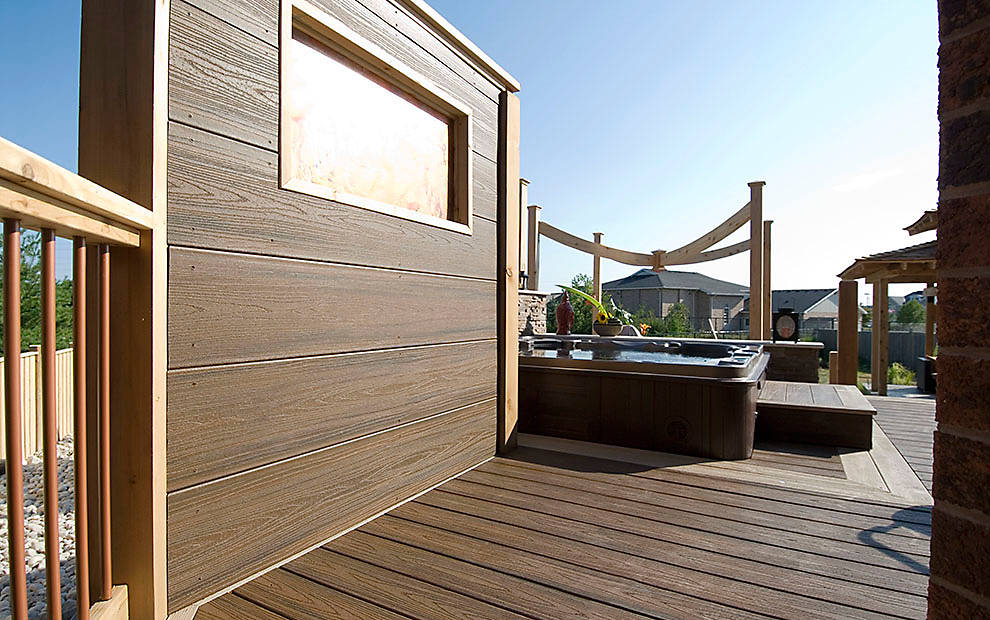 Trex Decking Colors >> Trex® Fascia Boards - The Finishing Touches For Any Deck ...