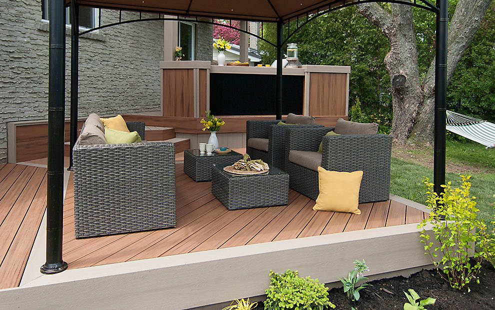 Inspiration Gallery & Small Deck Design Ideas \u0026 Photos | Trex