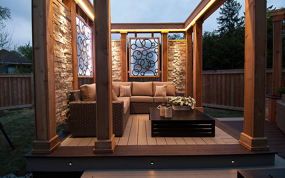 Deck Lighting Ideas Trex