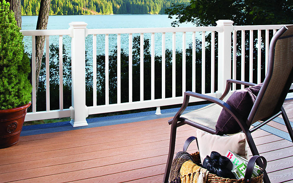Trex Select® Decking & Railing for Decking Composite Designs