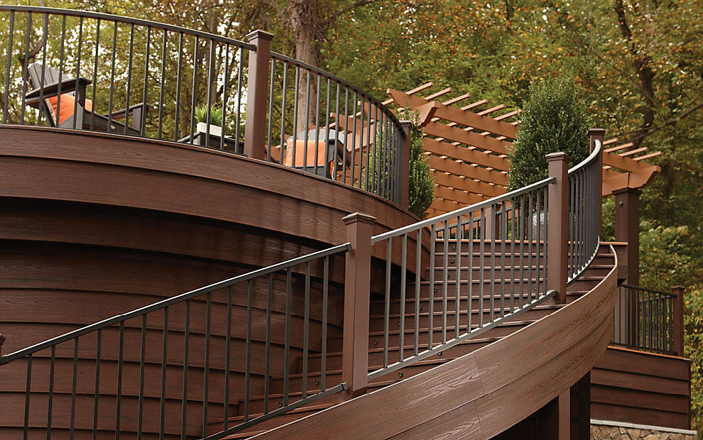Trex Decking Cost >> Trex Signature Railing - Great for Outdoor & Deck Hand ...