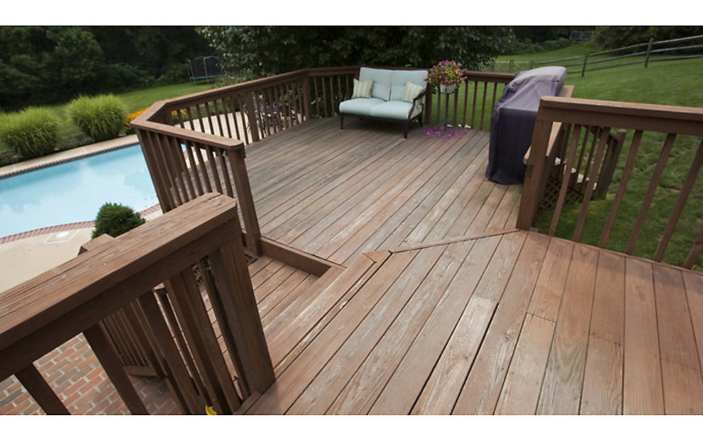 Trex Decking Cost >> Warm & Cool Deck Makeover featuring Transcend® in Fire Pit ...
