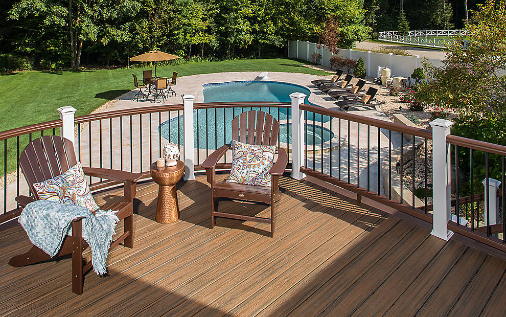 Photo Gallery With Examples Of Trex Decking Railing And