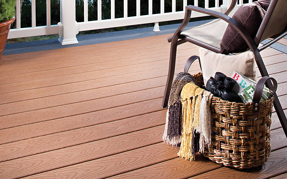 Photo Gallery featuring Trex deck designs and ideas for the ...