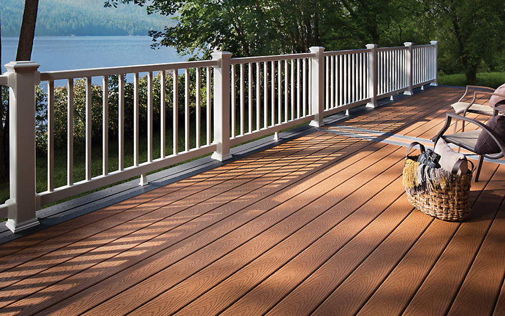 Photo Gallery Featuring Trex Deck Designs And Ideas For