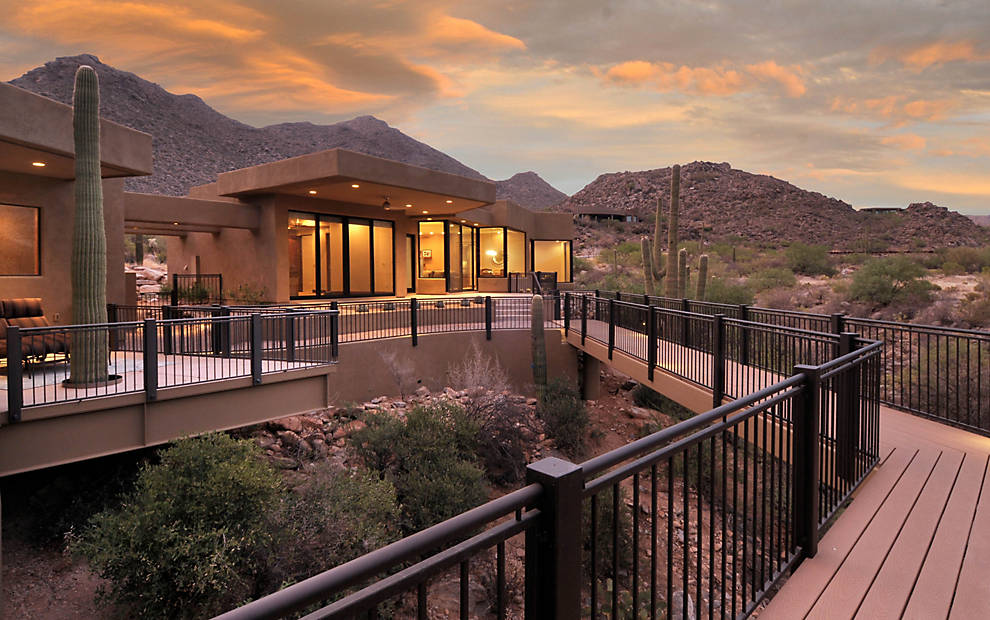 Photo Gallery Featuring Deck Designs From The Southwest Trex