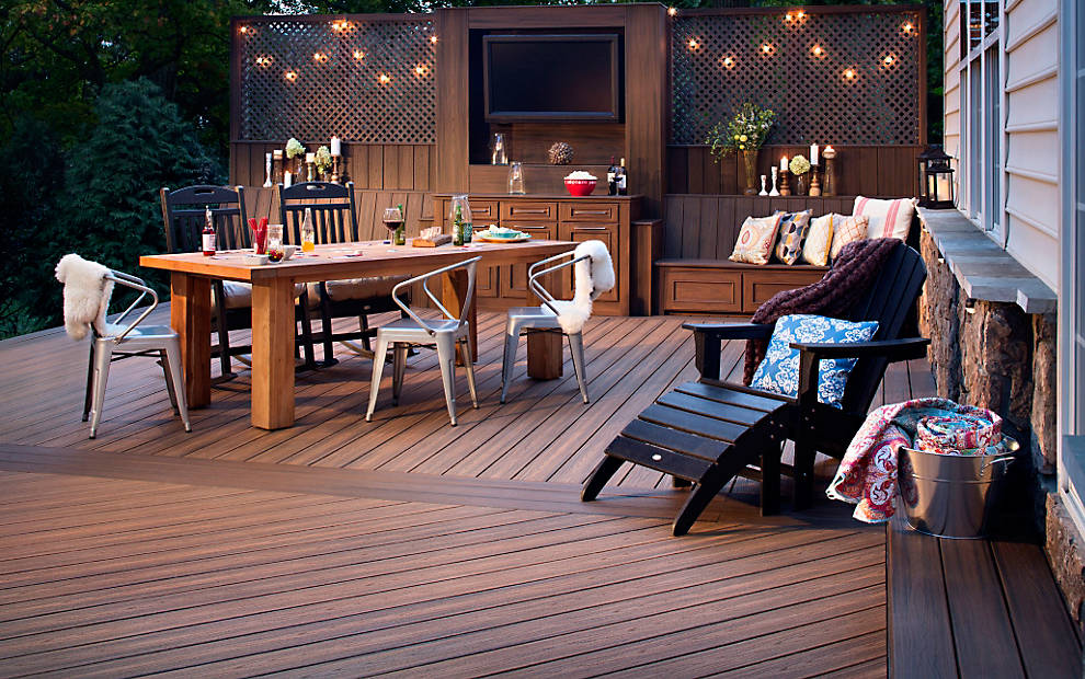transcend composite decking