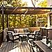 Trex Pergola Balance Retractable Canopy Transcend Decking
