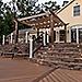Trex Pergola Vision Retractable Canopy Evening Transcend Decking
