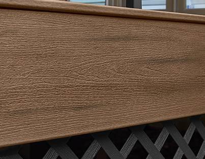 Trex Terrassendielen Enhance Toasted Sand Fascia