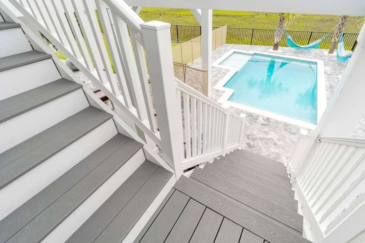 jess-davis-carcaba-road-boho-backyard-pool-steps-stairs-trex-pebble-grey
