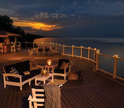 trex deck lighting. Outdoor Furniture Trex Deck Lighting