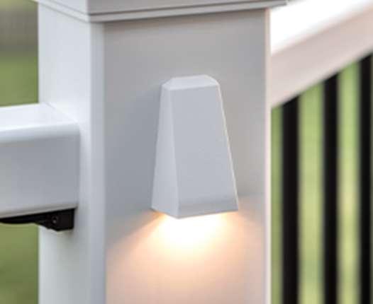Wedge Deck Rail Light