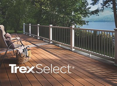 Deck Railing Systems | Composite Outdoor Deck Railing | Trex on