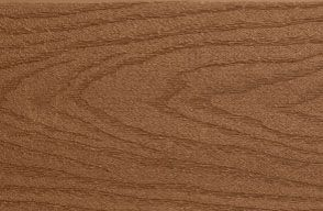 Swatch of Trex Select Composite Fascia in Saddle brown