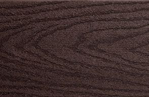 Swatch of Trex Select composite decking in Woodland Brown