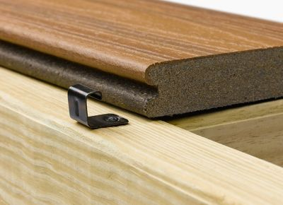 Charming Trex Hideaway Hidden Fastening System Start Clip Used To Install Transcend  Grooved Edge Composite Decking