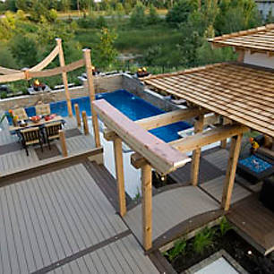 add some eastern influence to your outdoor living space check out trexs gallery of high - Deck Design Ideas Photos