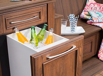 Affordable Trex Outdoor Storage Skirting Insert Storage Drawer Above Image  With Outdoor Cabinets