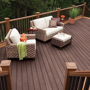 Trex Transcend high performance composite decking creates a new category in the decking industry