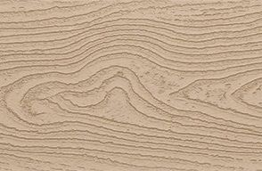 Swatch of Trex Transcend Fascia in Rope Swing taupe
