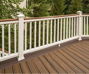 Trex White Deck Railing