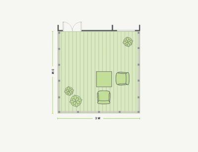 Composite Deck Cost Estimator