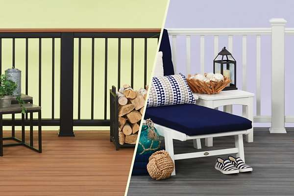 Composite Decking | Composite Deck Materials | Trex