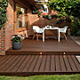 Picture of Trex Transcend® Composite Decking Sample in Spiced Rum