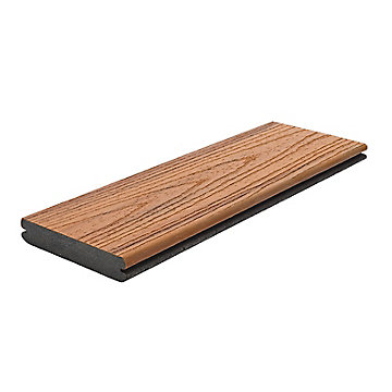 Picture of Trex Transcend® Composite Decking Sample in Tiki Torch