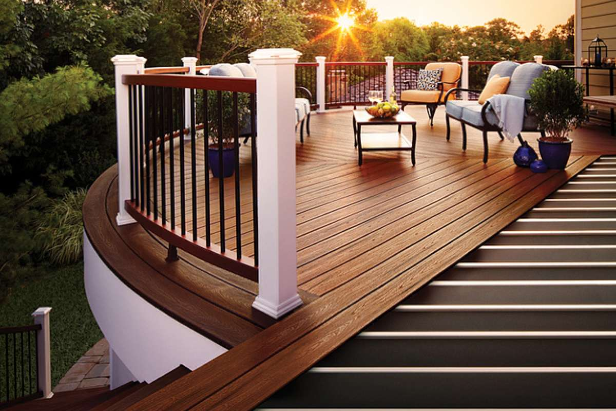 Trex Elevations Steel Deck Framing Transcend Decking