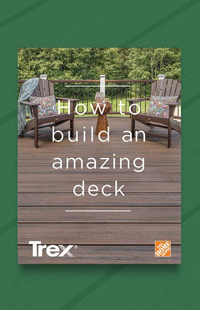 How to build an amazing deck