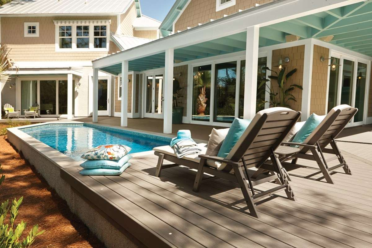 Building An Above Ground Pool Deck, How Much Does It Cost To Build An Above Ground Pool With Deck