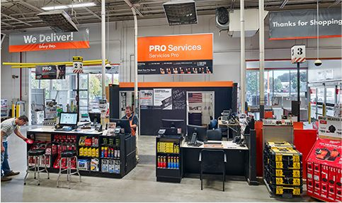 Home Depot's pro services can help you in-store