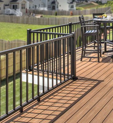 Trex Post Components - Outdoor Stairs Railing for Any Patio