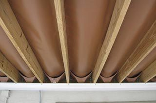 Deck Framing Under Drainage Systems Trex