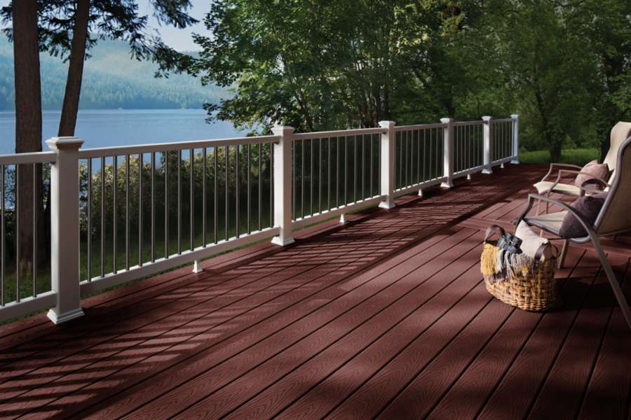 trex select decking maderia twin lakes