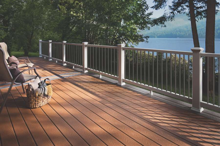 trex select decking saddle twin lakes
