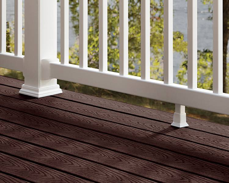 Trex Decking Colors >> Shop Trex Composite Decking & Railing at Home Depot | Trex