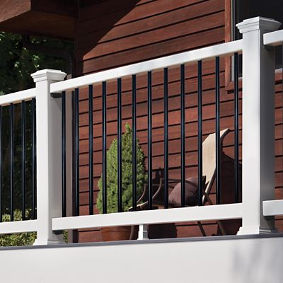 "Picture of 8' x 36"" Trex Select Rail & Baluster Kit (Horizontal)"