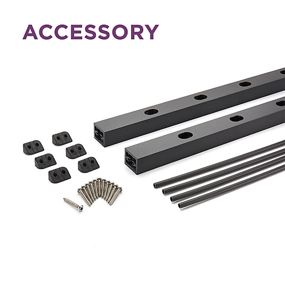 "Picture of Trex Signature® Rod Rail Vertical Kit in 36"" Stair"
